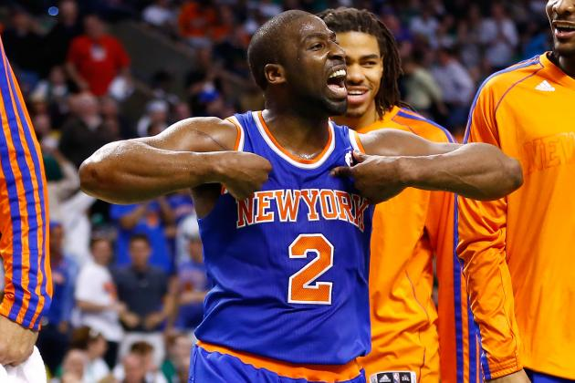 Raymond Felton Coming Up Big for New York Knicks in 2013 NBA Playoffs