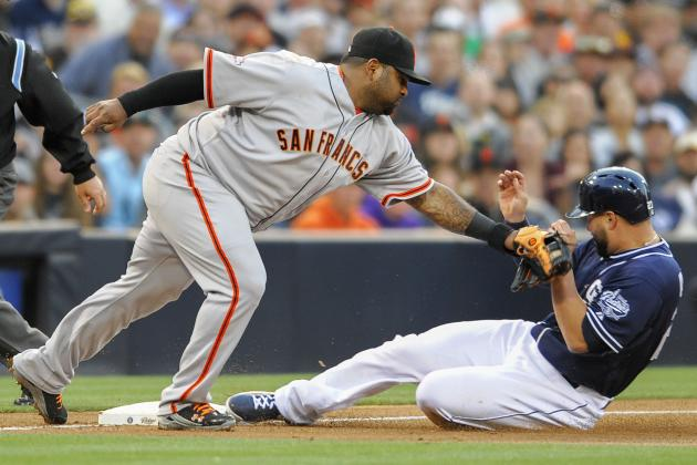 ESPN Gamecast: Giants vs Padres