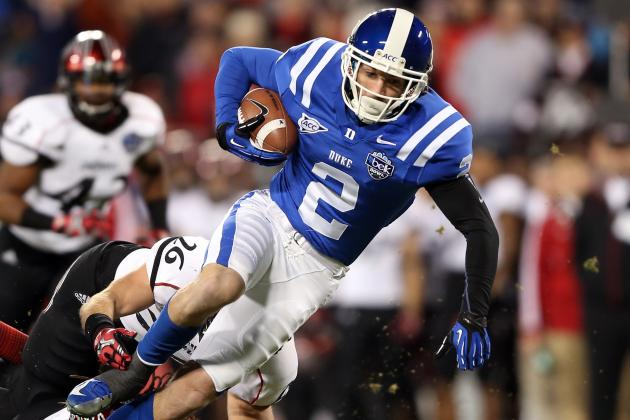 Duke WR Conner Vernon Headed to the Oakland Raiders