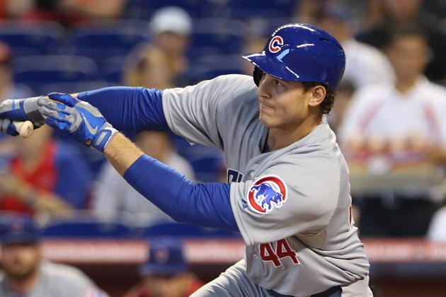 Stanton Homers Twice as Marlins Beat Cubs