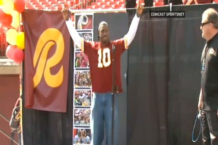 Robert Griffin III: Latest Injury Update for RG3 After Draft Party Jumping Jacks
