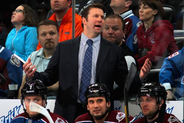 Colorado Avalanche Fire Head Coach Joe Sacco After 39-Point Season