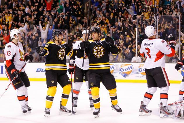 ESPN Gamecast: Senators vs. Bruins