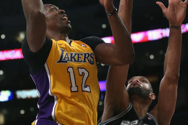 NBA Gamecast: Spurs vs. Lakers