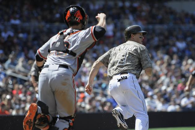 San Francisco Giants Swept by San Diego Padres