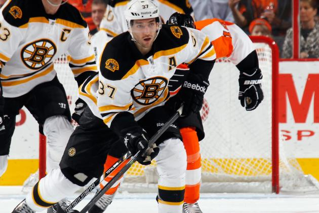 Patrice Bergeron Takes Home the Hardware in Regular Season Finale
