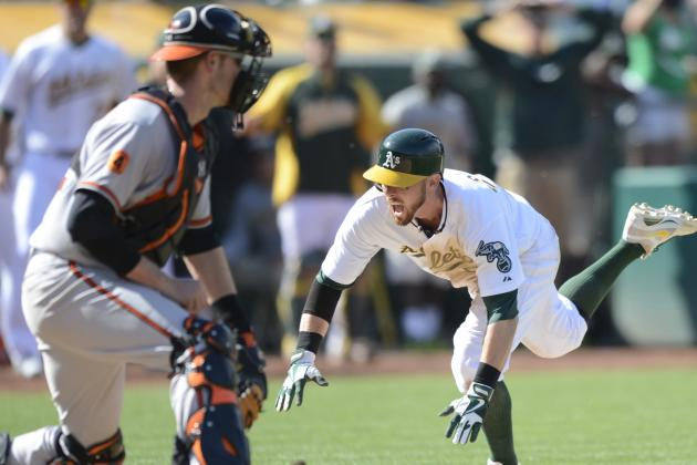 Athletics 9, Orioles 8(10)