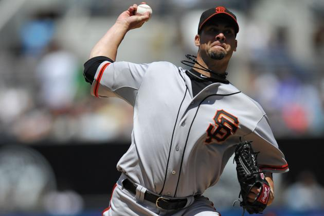 """I'm Just Off, Man,"" Vogelsong Says After Giants Drop Fifth Straight"