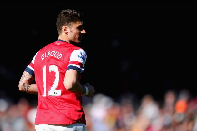Arsenal FC: Evalutating the Gunners' Striking Options Without Olivier Giroud