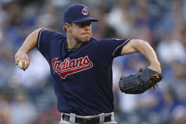 Kluber's Solid Start Gives Cleveland Indians a Split with Royals
