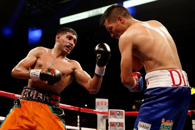 Amir Khan Proves He Is Most Entertaining Ticket in Boxing