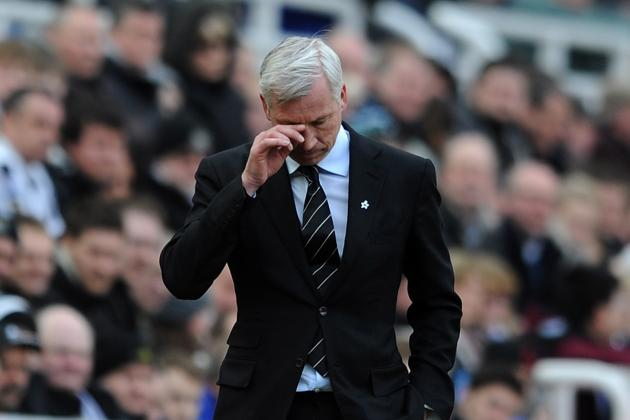 Failure of Too Many Players Proving Costly for Alan Pardew's Newcastle