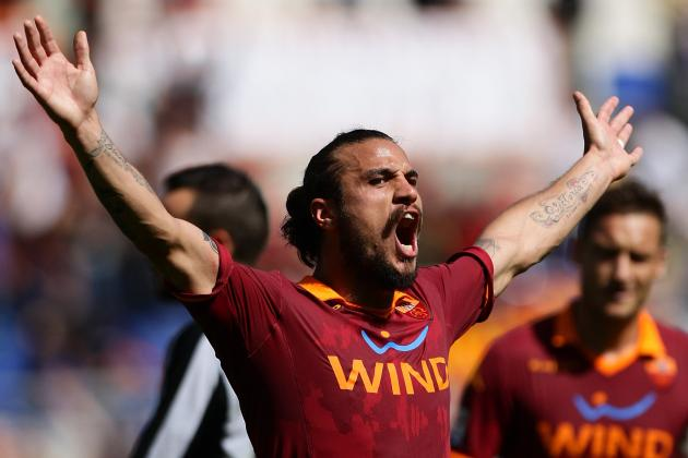 Osvaldo Hopes His Hat-Trick on Sunday Will Silence Some of His Roma Critics