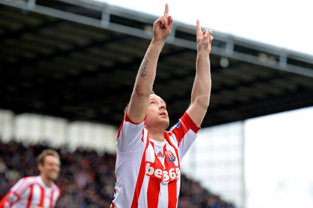 Premier League: Stokes Charlie Adam Dedicates Goal to His Late Father