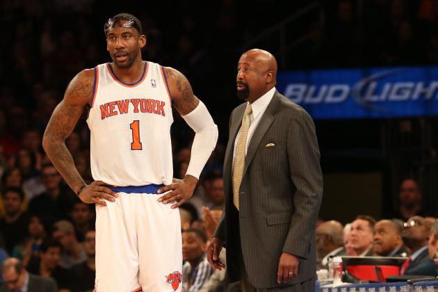 Woodson Says Amar'e Stoudemire 'Absolutely' Will Play in the Second Round
