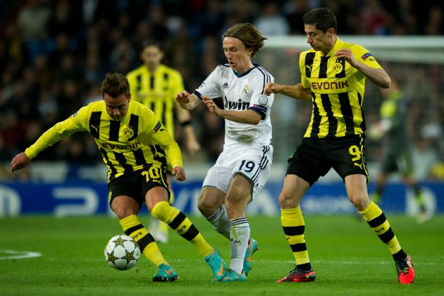 Real Madrid vs. Dortmund: Date, Time, Live Stream, TV Info and Preview