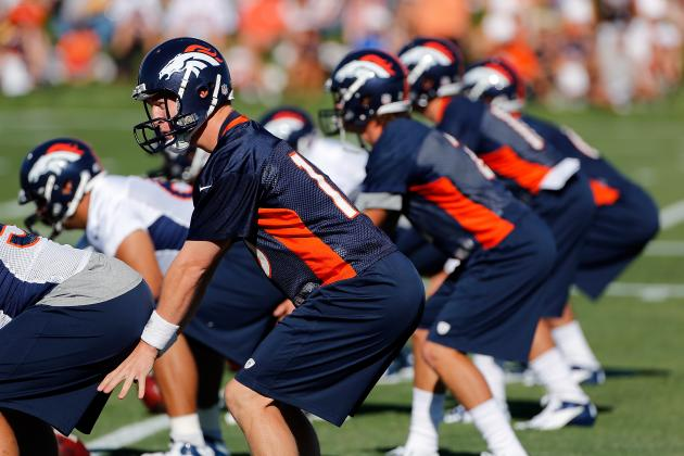 Broncos' Walk-Throughs to Begin Minus Some Starting Offensive Linemen