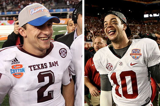 Johnny Manziel, AJ McCarron Planning Beach Vacation