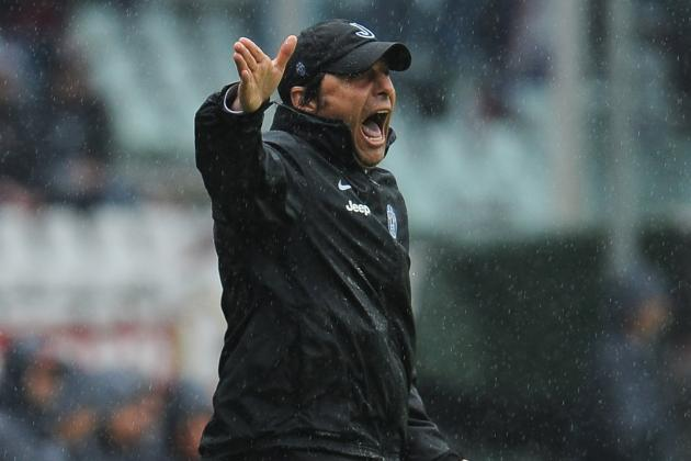 Serie A: No Letting Up from Juventus Coach Antonio Conte