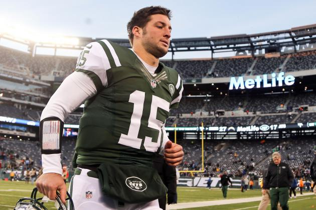 Jets Waive QB Tebow; Possible Patriots Role