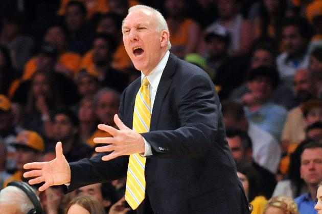 Gregg Popovich on Lakers: 'It Wasn't a Fair Fight'