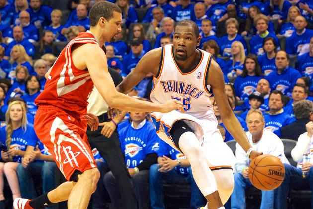 OKC Thunder vs. Houston Rockets: Game 4 Preview, Schedule and Predictions