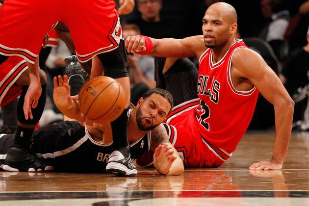 Taj Gibson Feels Bulls Are a Tougher Team Than Nets