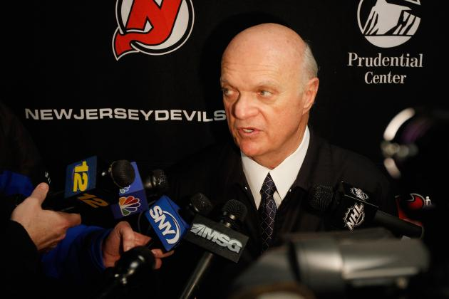 Lamoriello Says Devils Keeping 2013 First Rounder