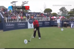 Lucky Golfer Smashes Drive 500 Yds