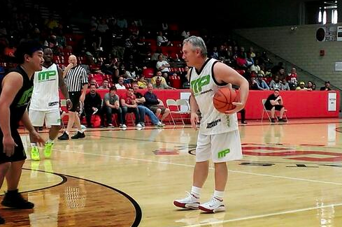 Jim Tressel Plays Hoops for Maurice Clarett Charity (PHOTO)