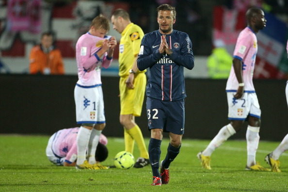 Ligue 1: Has David Beckham Played His Last Match for Paris Saint-Germain?