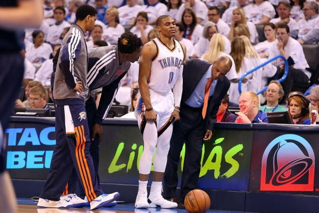 Setting Oklahoma City Thunder's 'Emergency' Rotation with Russell Westbrook Hurt