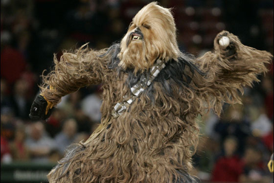 Toledo Mud Hens Will Wear Chewbacca Uniforms to Honor Wookies Worldwide