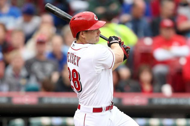 Reds Lose Another Outfielder, Place Chris Heisey on DL