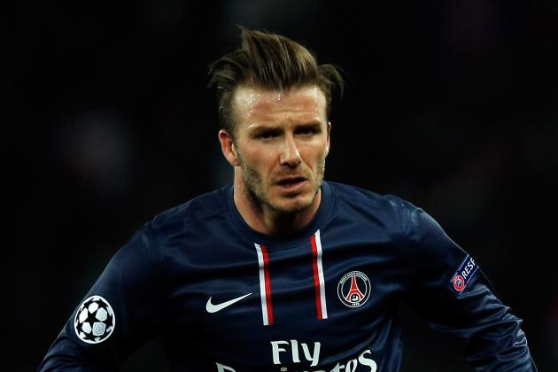 Beckham Sent off After Just 6 Minutes