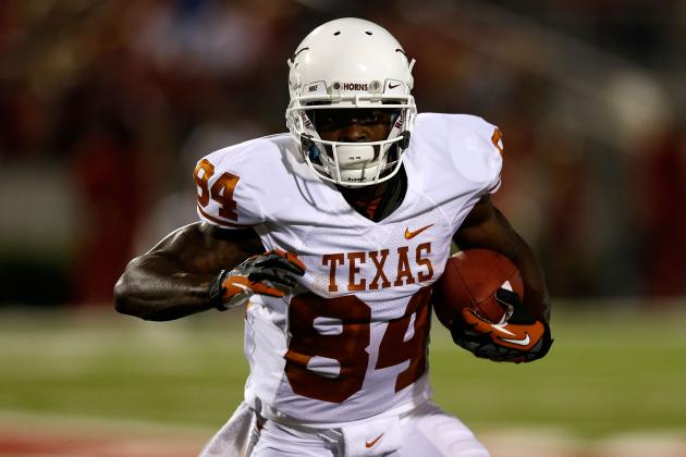 Texas Longhorns WR Marquise Goodwin Didn't Think He'd Be Drafted Friday