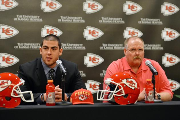 Andy Reid Breaks Down KC's 2013 Draft Picks