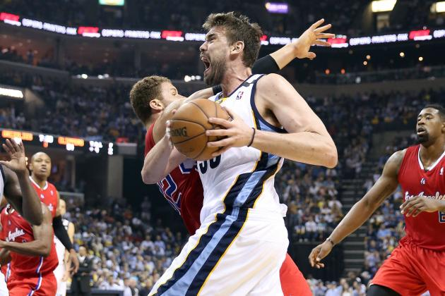 Grizzlies Bully Clippers with Inside Game