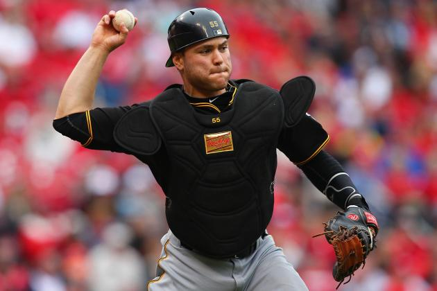 Pirates Catcher Martin Named NL Player of the Week