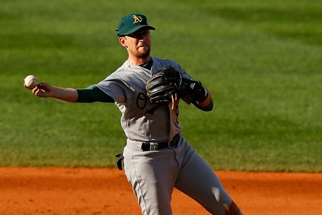 Lowrie Returns to Lineup Tonight vs. Angels