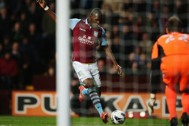 Paul Lambert Calls Christian Benteke Absolutely World Class After Hat-Trick