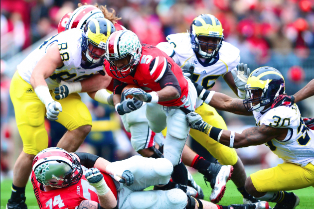 Michigan, Ohio State Dominate Initial Big Ten Football Primetime Games for 2013