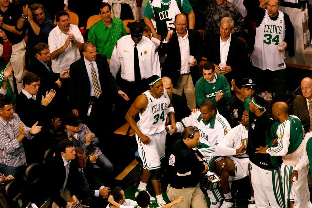 Bizarre Moments in NBA Playoff History: Paul Pierce's Wheelchair Game