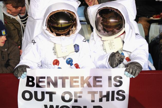 Lambert praises 'fabulous' Benteke