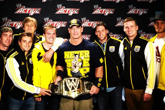 Columbus Crew Hang with WWE's John Cena