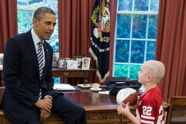 Jack Hoffman's Meeting with Barack Obama Showcases Heartwearming Side of Sports