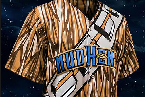 Are Toledo Mud Hens' 'Chewbacca' Star Wars Jerseys Legendary or Horrible?