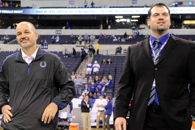 Colts Stick to Strategy on Draft Day