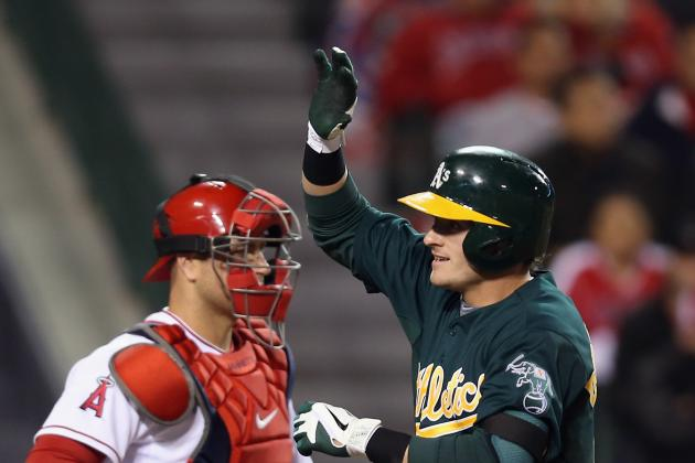 A's Beat Angels 10-8 in 19 Innings
