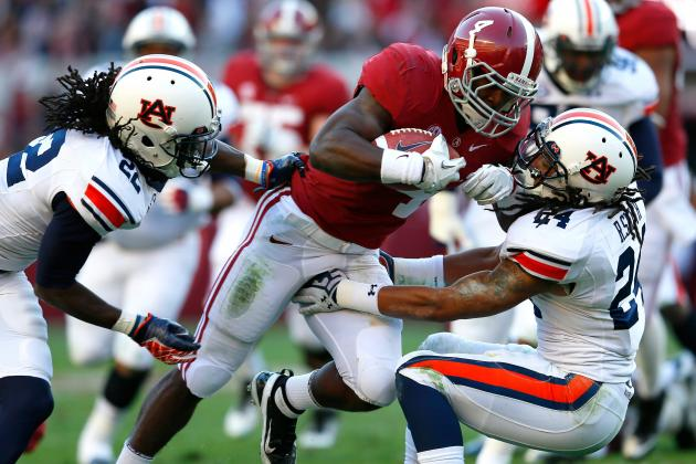 SEC Football Video: Who Are the Top 5 Running Backs Headed into Fall Practice?